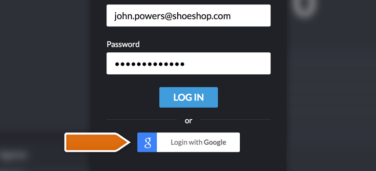 Use Google to log into LiveChat Dashboard