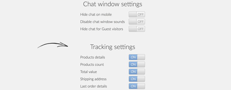 Modify the behaviour of LiveChat plugin
