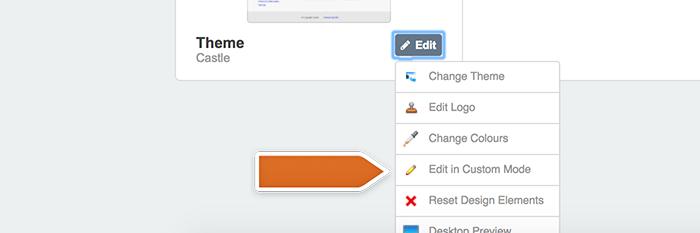 Adding custom changes