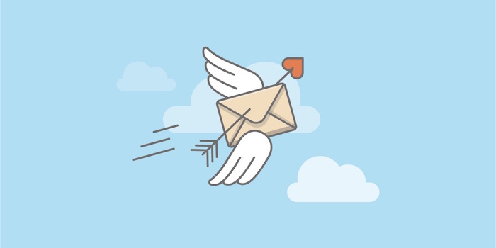 Mail Wings Arrow Illustration How to Successfully Get Started with Email Marketing