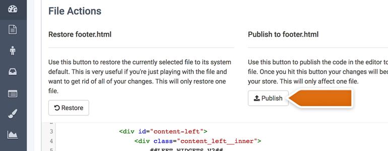Web Design Closing Tab