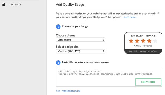 Our Quality Badge is getting an update!