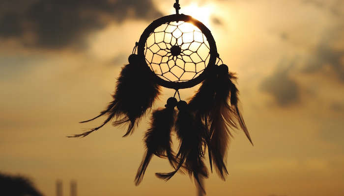 dream catcher sunset deep listening in customer service metaphor