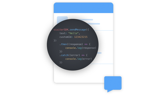 Our redesigned Visitor Chat SDK is here!