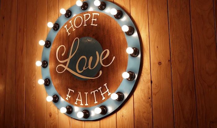 hope love faith neon sign how to improve customer satisfaction
