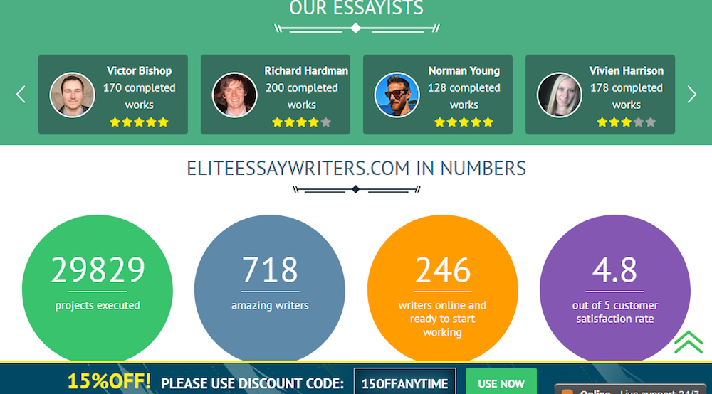 Elite Essay Writers