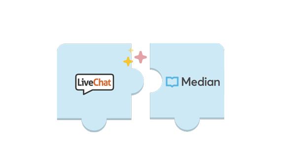 LiveChat - Median integration is here!