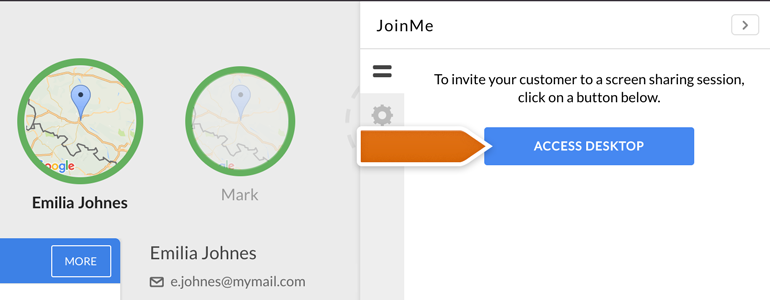LiveChat Join me: You are just a click away from sharing your customers' screens!