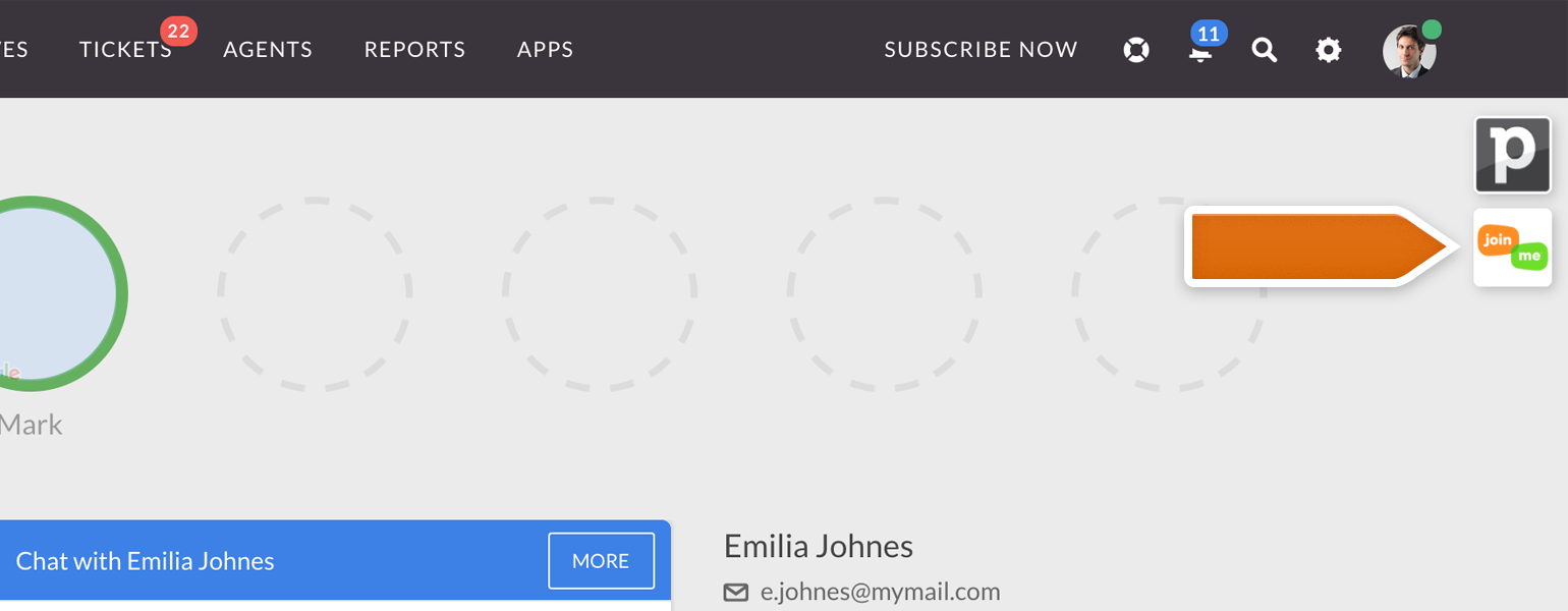 join me app not working