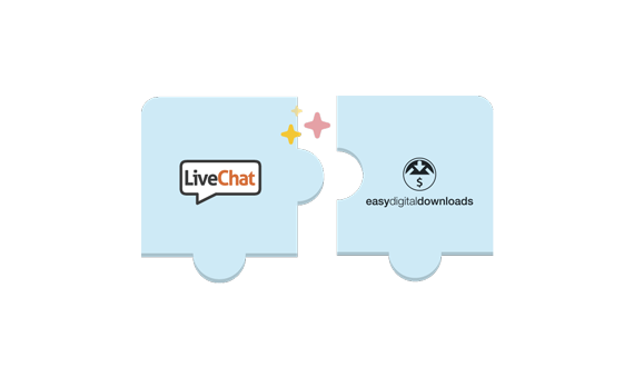 LiveChat for Easy Digital Downloads is here!