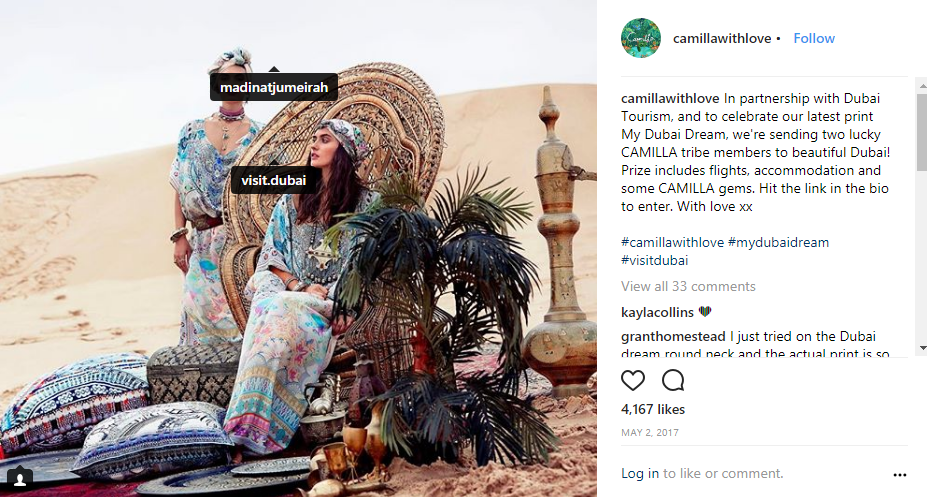camillawithlove instagram desert photo contest