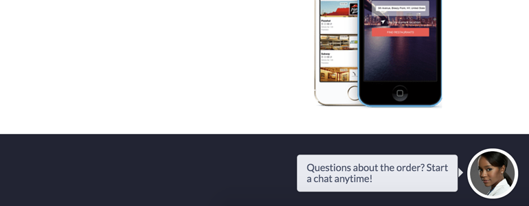 Ordering LiveChat: Start chatting with your customers!
