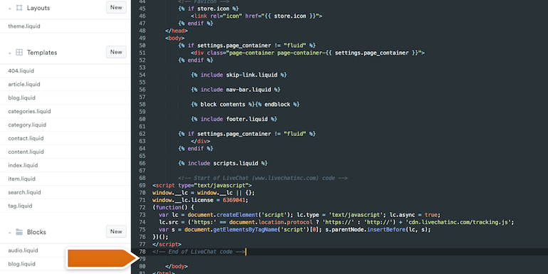 Selz paste code