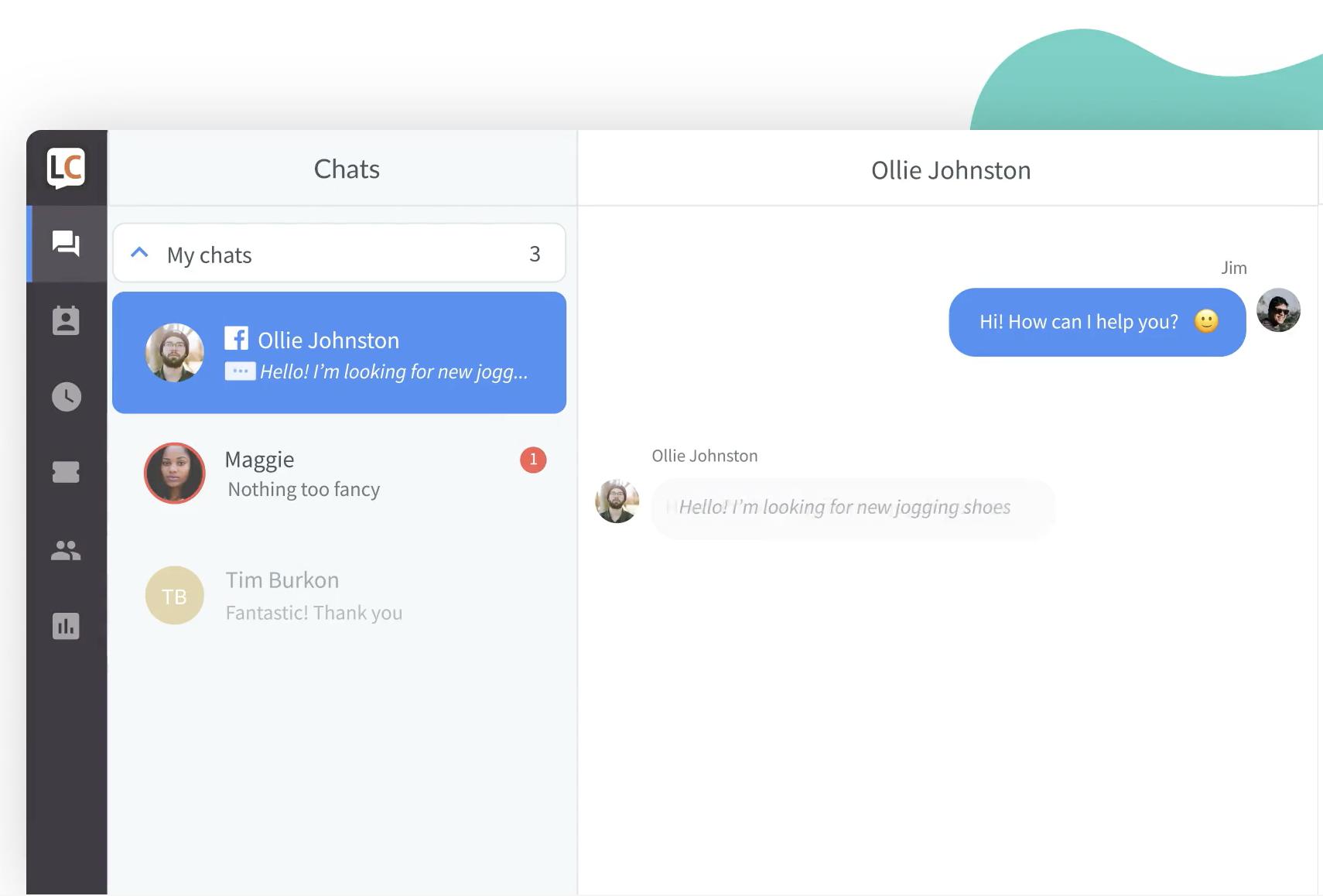 LiveChat – best Olark alternative