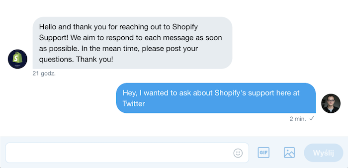 Shopify Customer Service