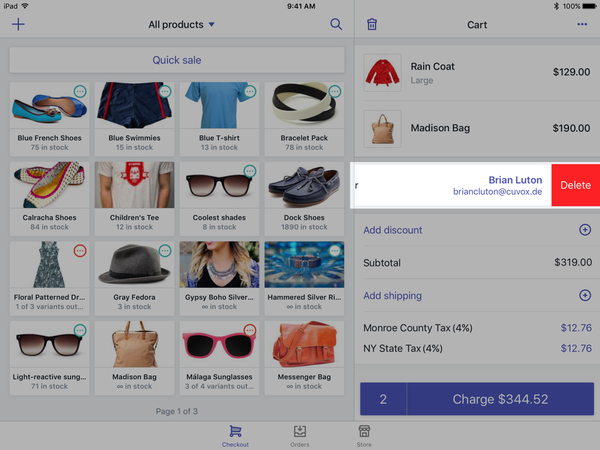 POS data, Shopify POS customer profiles | Shopify Retail blog