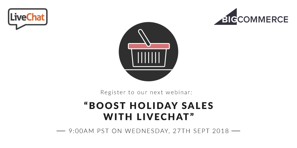 Boost holiday sales with LiveChat