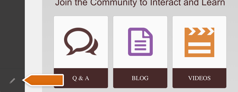 DotNetNuke Chat: click on the Edit Page button