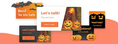 Embracing Halloween on Chat with Your Customers