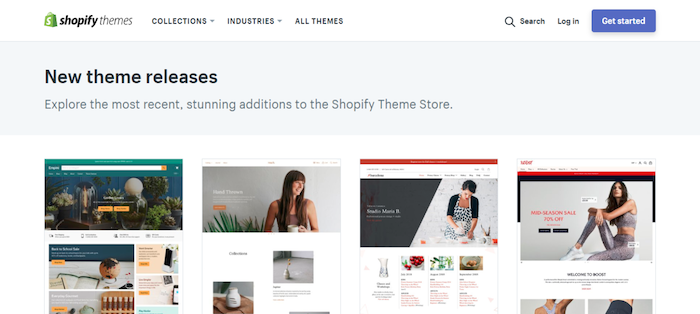 shopify store themes
