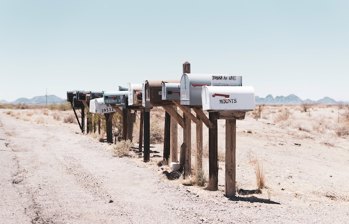 mailbox desert email drip campaign