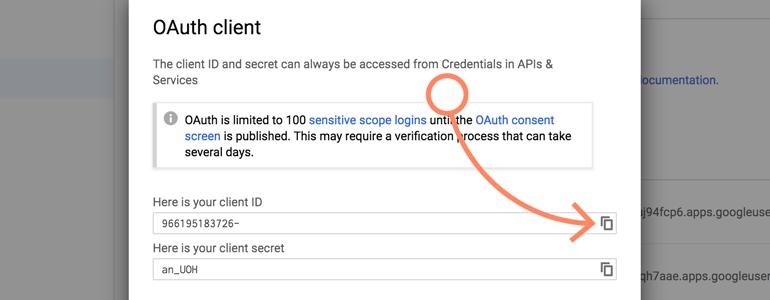 NetSuite LiveChat: copy client ID