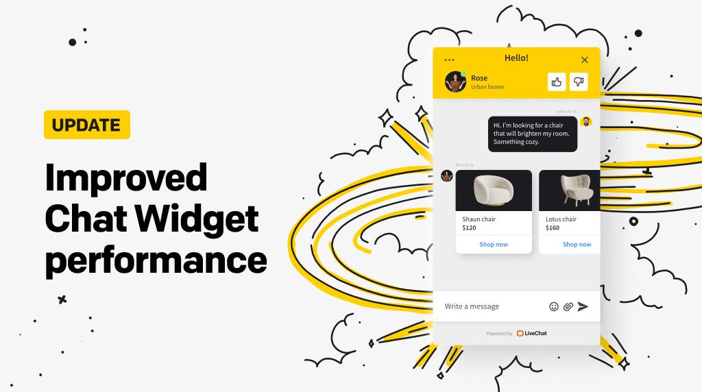Improved Chat Widget performance