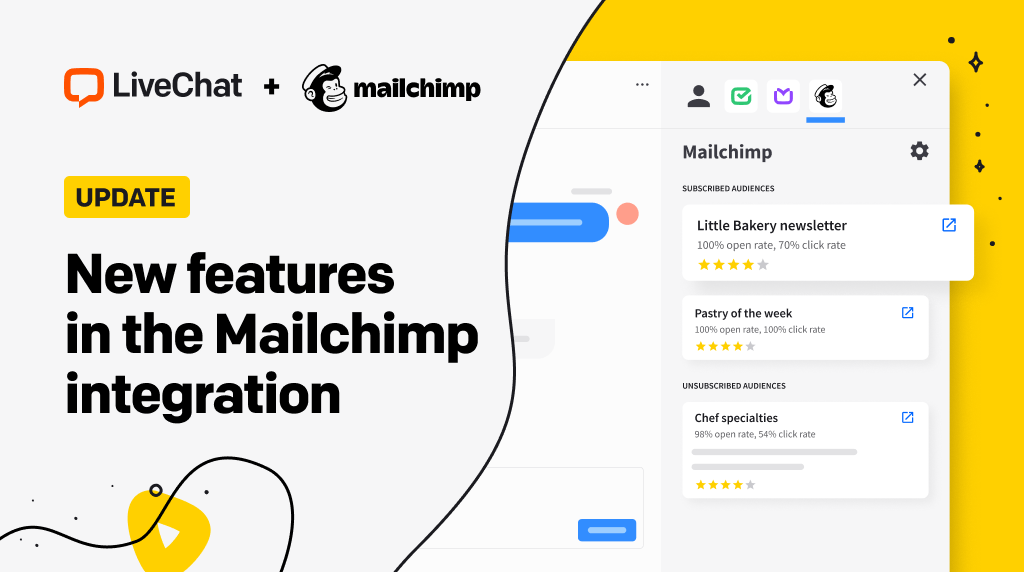 New features in the Mailchimp integration